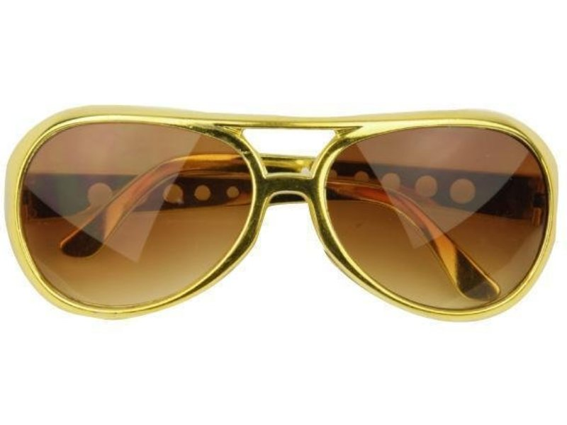 Glasses Elvis Gold