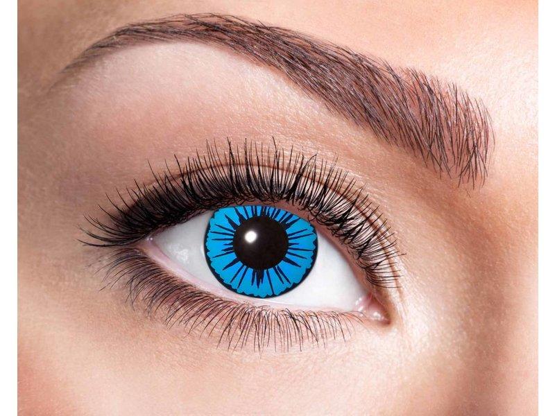 Breaklight Lentilles de couleurs Eyecatcher Blue star