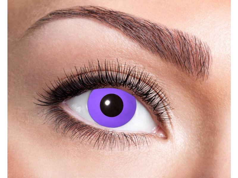 Breaklight Lentilles de couleurs Eyecatcher Purple Gothic