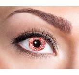 Breaklight Color Lenses Eyecather Red Swirls