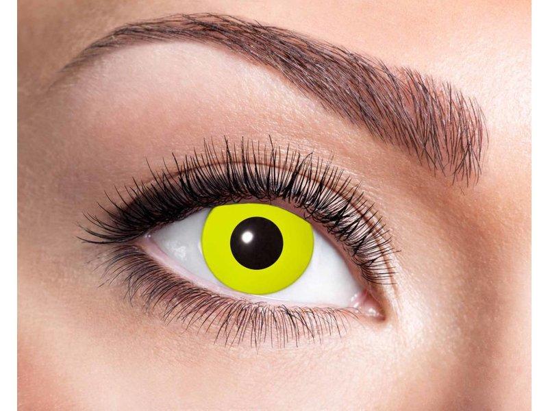 Breaklight Kleurlenzen Eyecatcher Yellow Crow Eyes