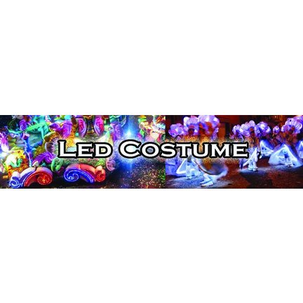 Led decoration for clothes, dress-to-impress