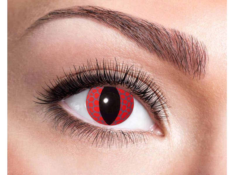 Breaklight Lentilles de couleurs Eyecatcher Red Dragon