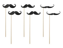 Breaklight Party Prop - Prop Moustache ( 6 pieces )