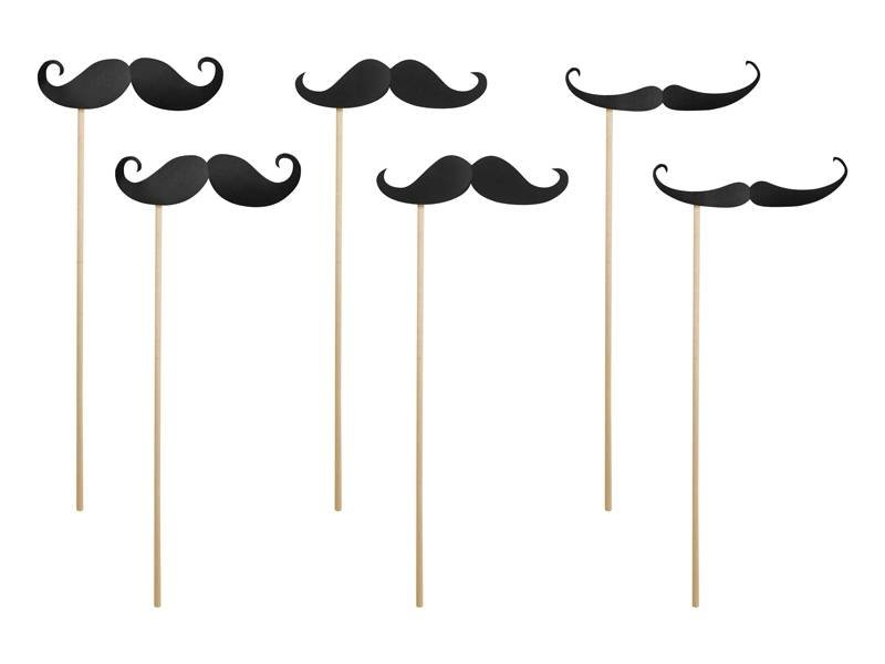 Breaklight Party Prop - Moustache d'appui( 6 pieces )