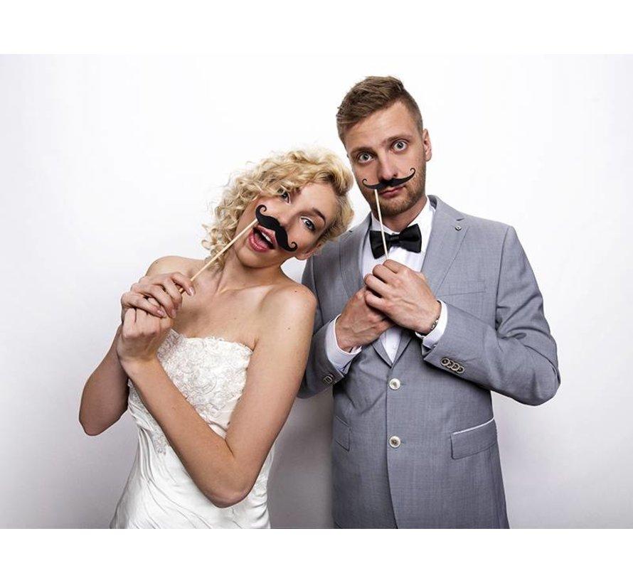 Party Prop - Moustache d'appui( 6 pieces )