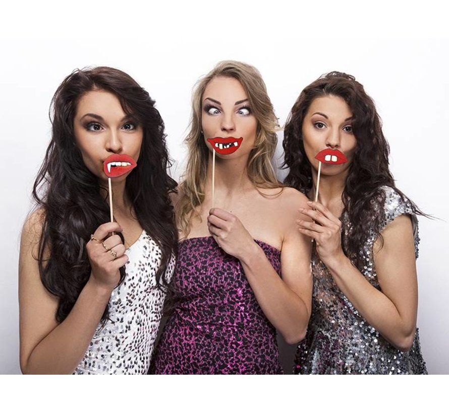 Party Prop - Prop Funny Lips ( 3 pieces )
