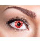 Breaklight Color Lenses Eyecather Red Spiral