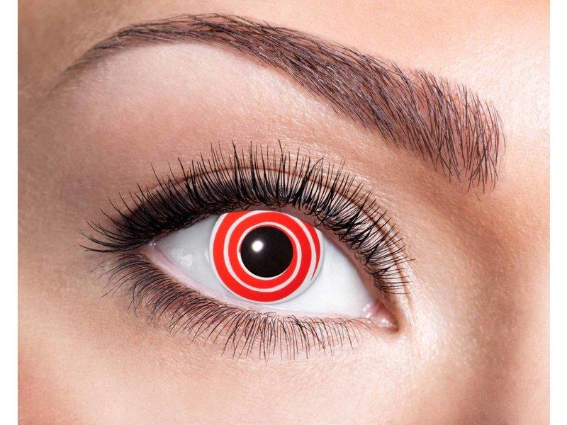 Breaklight Kleurlenzen Eyecatcher Red Spiral