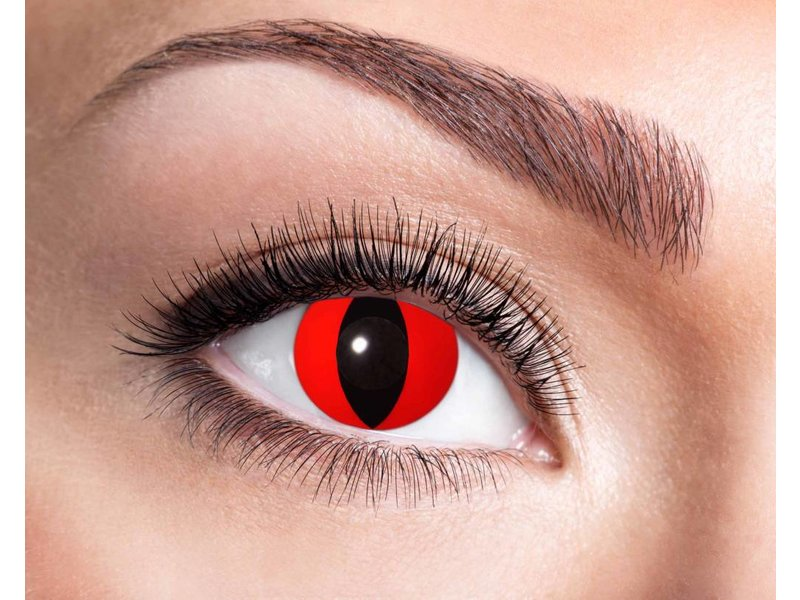 Breaklight Lentilles de couleurs Eyecatcher Red Cat