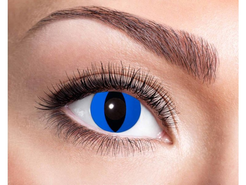 Breaklight Lentilles de couleurs Eyecatcher Blue Cat