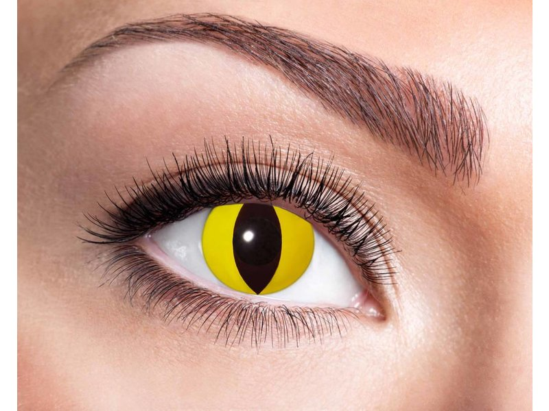 Breaklight Lentilles de couleurs Eyecatcher Yellow Cat