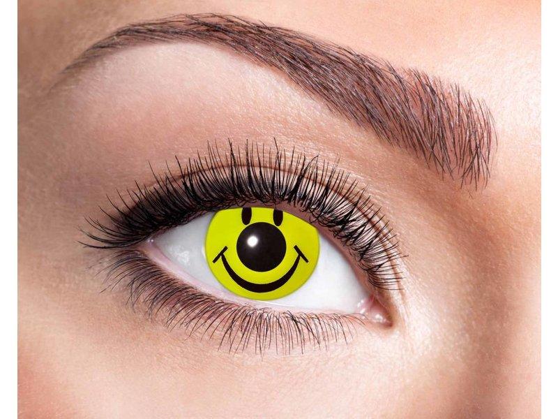Breaklight Crazy Fun Lenses - Eyecatcher Smiley
