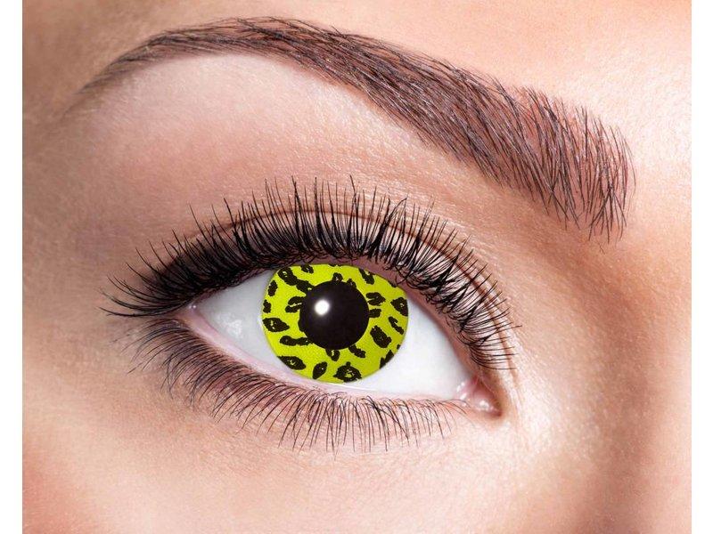 Breaklight Lentilles de couleurs Eyecatcher Yellow Leopard
