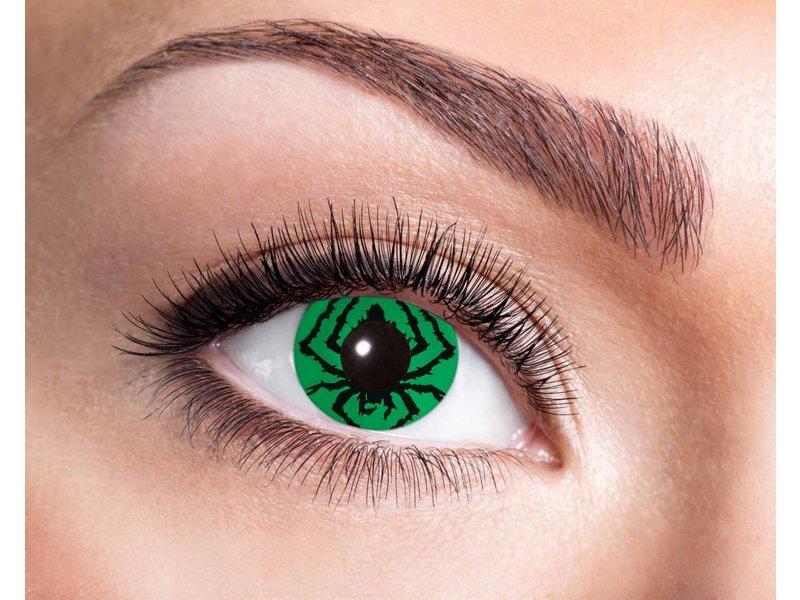 Breaklight Color Lenses Eyecather Green Spider
