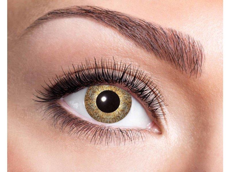 Breaklight Color Lenses Eyecather Golden Sparkle