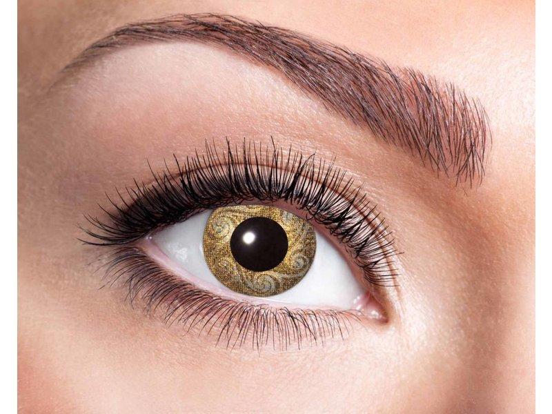 Breaklight Kleurlenzen Eyecatcher Gold Swirls