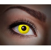 Color lenses Eyecatcher UV Flash Yellow
