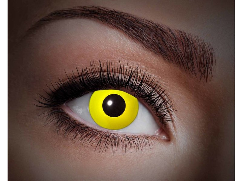 Breaklight Lentilles de couleur Eyecatcher UV Flash Yellow