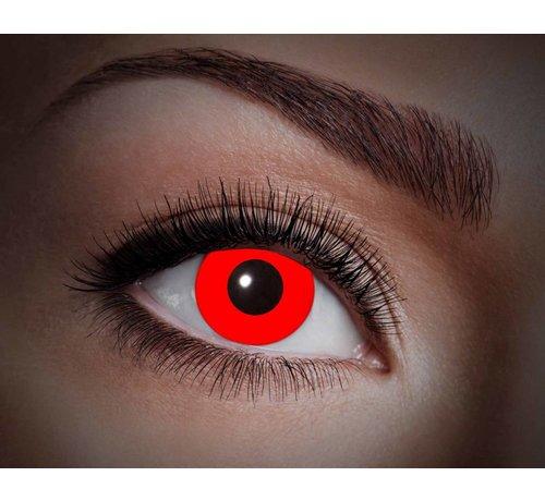 Color lenses Eyecatcher UV Flash Red