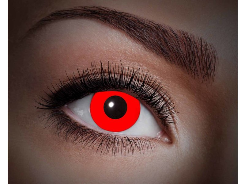 Breaklight Lentilles de couleur Eyecatcher UV Flash Red
