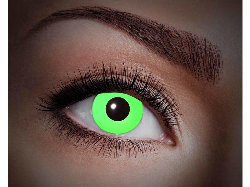 Breaklight Lentilles de couleur Eyecatcher UV Flash Green