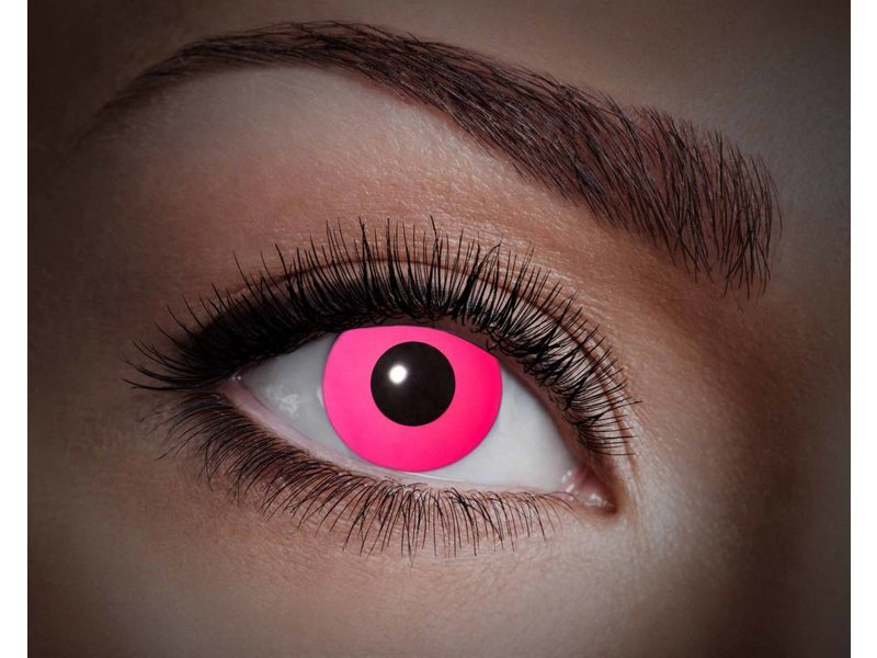 Breaklight Lentilles de couleur Eyecatcher UV Flash Pink