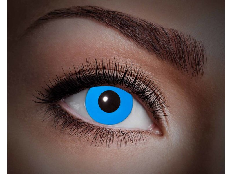 Breaklight Lentilles de couleur Eyecatcher UV Flash Blue