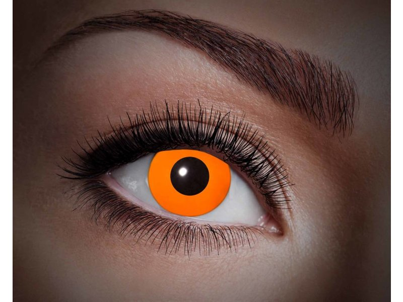 Breaklight Lentilles de couleur Eyecatcher UV Flash Orange
