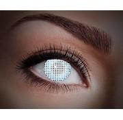 Color lenses Eyecatcher UV White Screen