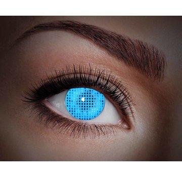 UV Blue Screen