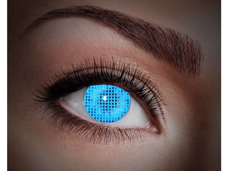 Breaklight Lentilles de couleur Eyecatcher UV Blue Screen
