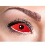 Breaklight Lentilles Crazy Fun - Eyecatcher Full Red Eye