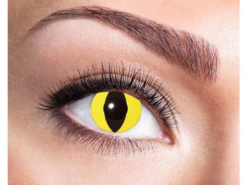 Breaklight Lentilles Fashion - Yellow Cat