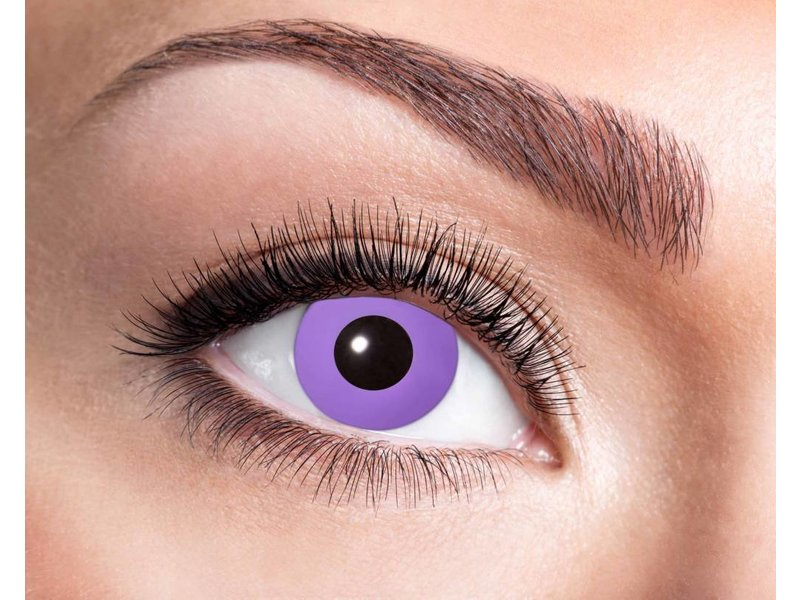 Purple Gothic 3 month color lenses