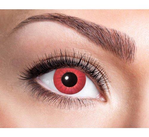 Electro Red 3 mois lentilles