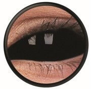 Breaklight Lentilles Black Sclera 22 mm