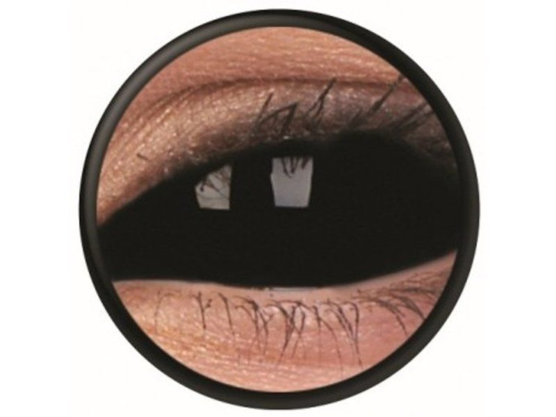 Breaklight Black Sclera lenses 22 mm