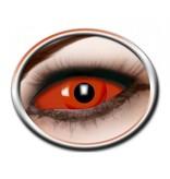 Breaklight Crazy Fun Lenses- Eyecatcher Full Red Eye