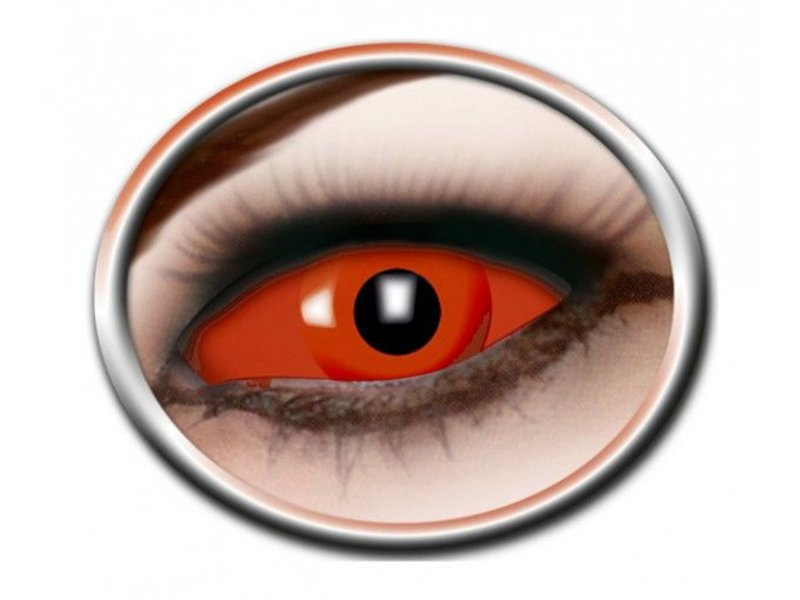 Breaklight Crazy Fun Lenses - Eyecatcher Full Red Eye