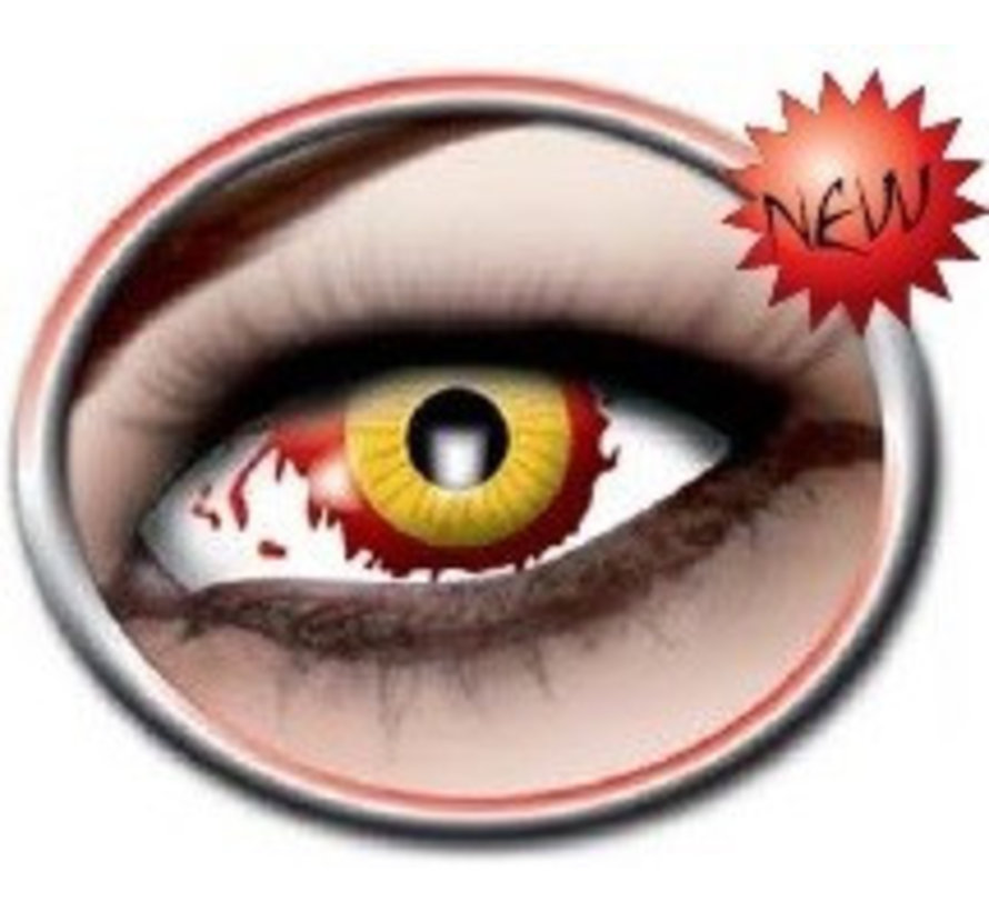 Color Lenses  Eyecatcher Damaged Eye