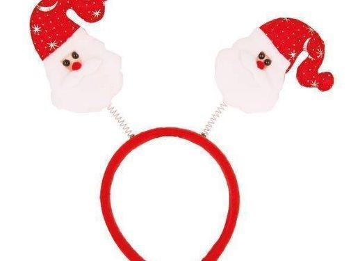 Diadeem Kerstman Bopper