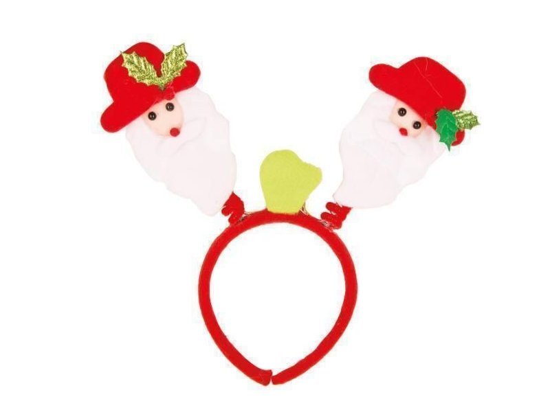 LED Diadeem Kerstman Bopper
