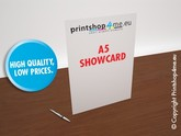 A5 Show Card with gloss varnish