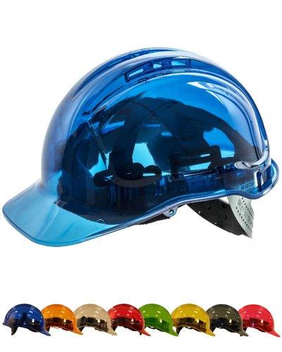 Portwest PV50 transparante helm met UV400 bescherming