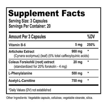 Natural Stacks CILTEP - 60 capsules