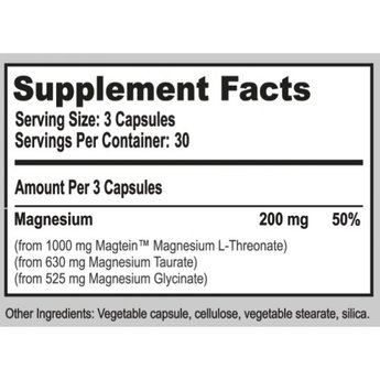 Natural Stacks MagTech™ - MAGNESIUM COMPLEX - 90 capsules