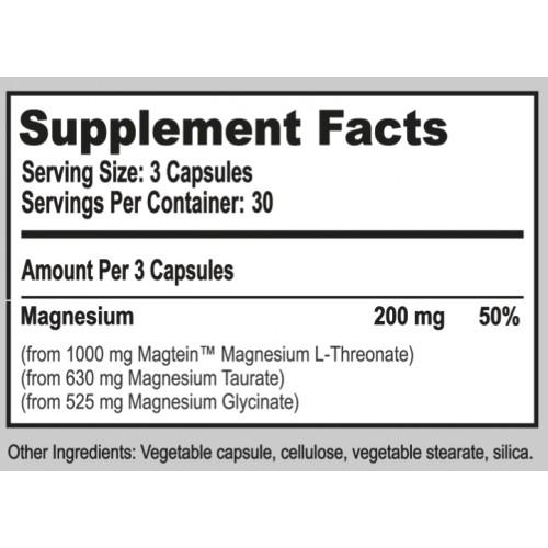 Natural Stacks MagTech™ - MAGNESIUM COMPLEX - 90 capsules