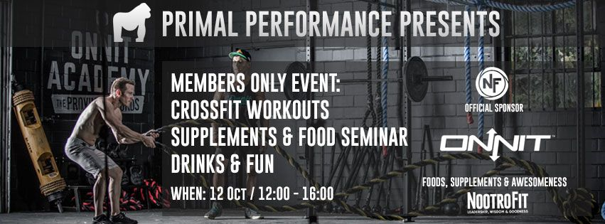 NootroFit is bij de opening van Primal Performance CrossFit in Weert