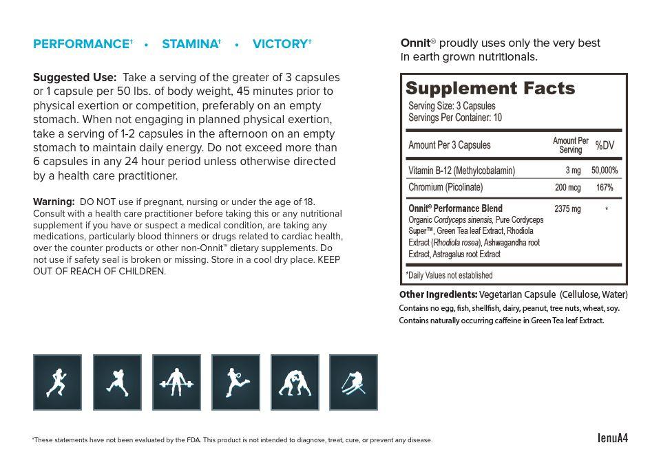 Onnit Shroom TECH Sport - 84 capsules